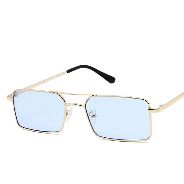 Fashion Tiny Narrow Rectangle Sunglasses For Women