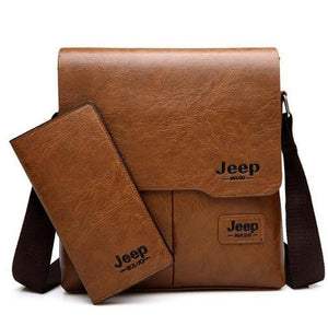 Man Leather Messenger Shoulder Bags
