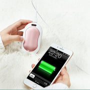 USB Rechargeable Hand Warmer & Power Bank