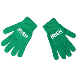 St Patrick's Day Irish Gloves