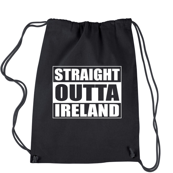 Straight Outta Ireland Drawstring Backpack
