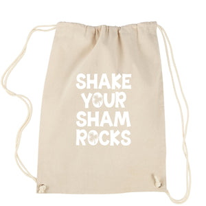 Shake Your Shamrocks Drawstring Backpack