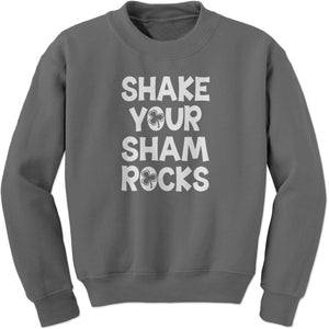Shake Your Shamrocks Adult Crewneck Sweatshirt