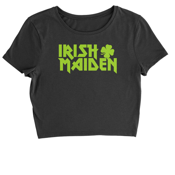 Irish Maiden ShamRocker Cropped T-Shirt