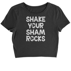 Shake Your Shamrocks Cropped T-Shirt