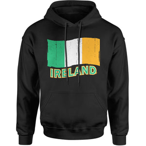 Ireland Distressed Flag Mens T-shirt