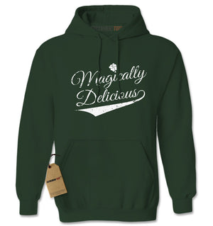 Magically Delicious Shamrock Adult Hoodie Sweatshirt