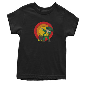Dabbing Leprechaun Rainbow Mens T-shirt
