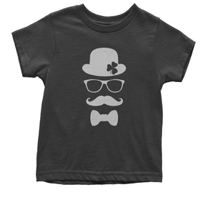 Derby, Mustache and Shamrock Mens T-shirt