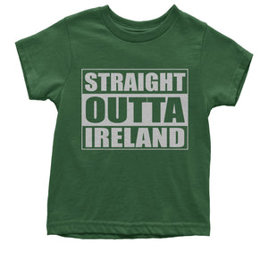 Straight Outta Ireland Youth T-shirt