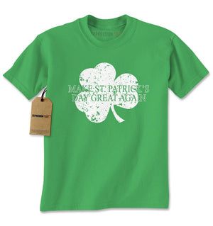 Make St. Patrick's Day Great Again Mens T-shirt