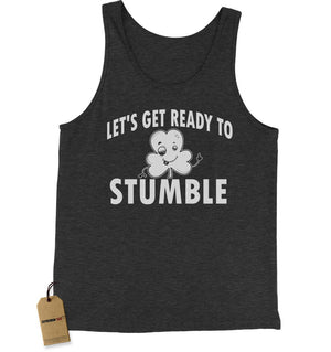 Let's Get Ready To Stumble Drinking Jersey Tank Top for Men