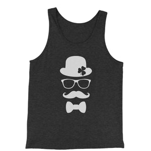Derby, Mustache and Shamrock Jersey Tank Top for Men