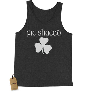 Fit Shaced Shamrock St. Patrick's Day Jersey Tank Top for Men