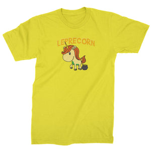 Leprecorn Unicorn Leprechaun Mens T-shirt