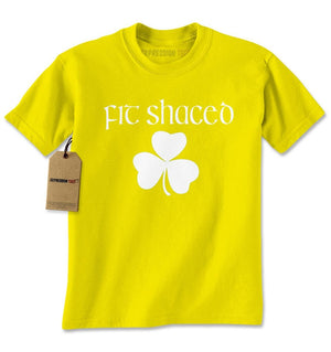 Fit Shaced Shamrock St. Patrick's Day Mens T-shirt