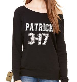 St. Patrick 3-17 Slouchy Off Shoulder Oversized Sweatshirt