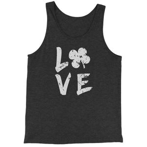 Love Shamrock Clover Jersey Tank Top for Men