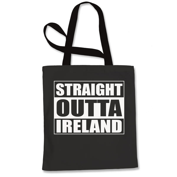 Straight Outta Ireland Shopping Tote Bag