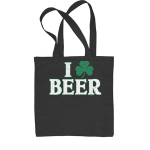 I Shamrock Beer St. Paddy's Day Shopping Tote Bag