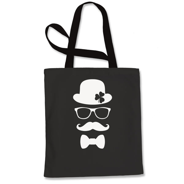 Derby, Mustache and Shamrock Shopping Tote Bag