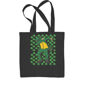 St Patricks Day Dab Shopping Tote Bag