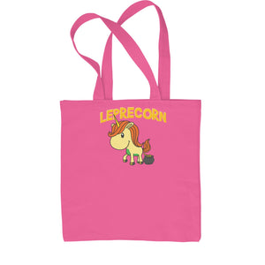 Leprecorn Unicorn Leprechaun Shopping Tote Bag