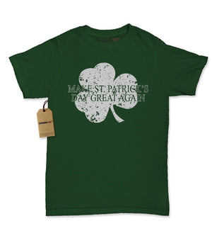 Make St. Patrick's Day Great Again Womens T-shirt
