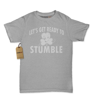 Let's Get Ready To Stumble Drinking Womens T-shirt
