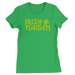 Irish Maiden ShamRocker Womens T-shirt
