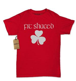 Fit Shaced Shamrock St. Patrick's Day Womens T-shirt