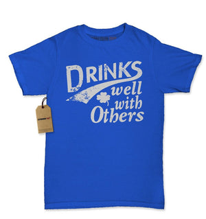 Drinks Well With Others Womens T-shirt