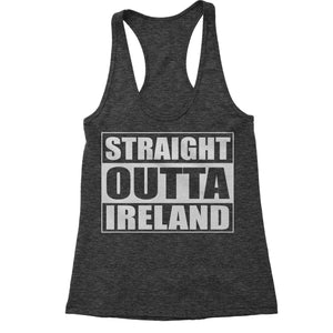 Straight Outta Ireland Racerback Tank Top for Women