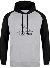 Load image into Gallery viewer, dog 360 hoodie with high quality printed logo