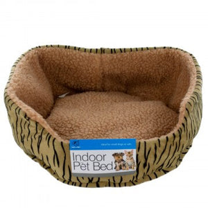 Cheetah print pet bed designed for cats and small dogs only at Dog 360 pet supplies in Idaho Falls ID