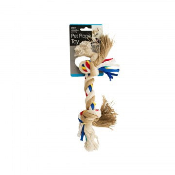 rope multicolor pet chew toy