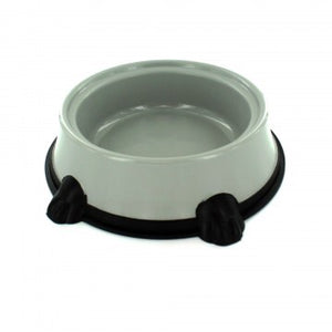 grey small animal food pan