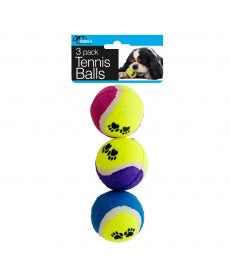 case of pet tennis balls at dog 360