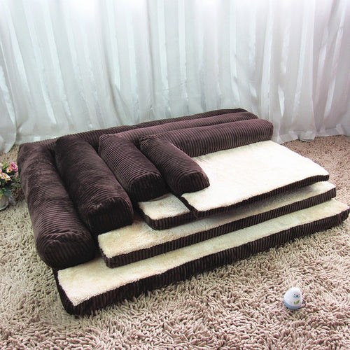 Sofa Pet Bed With Detachable Design