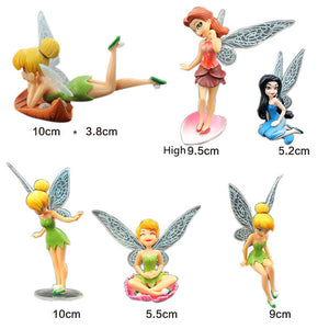 Tinker Bell Aquarium Ornaments (6 pc)