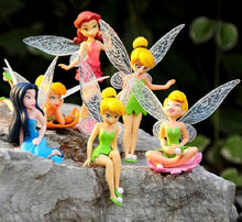 Load image into Gallery viewer, Tinker Bell Aquarium Ornaments (6 pc)
