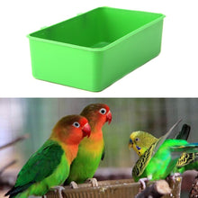 Load image into Gallery viewer, Plastic Parrot Watering Bowl