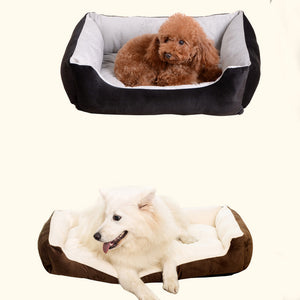 This luxury waterproof machine washable bed is perfect for all types of dogs. This bed offers a place where your pet can get a good night's sleep or rest and relax in a high-quality bed any time of day. Only at Dog 360.