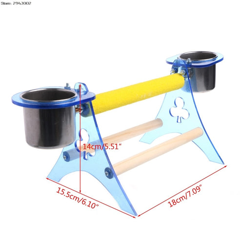 Acrylic Table Parrot Play-Stand