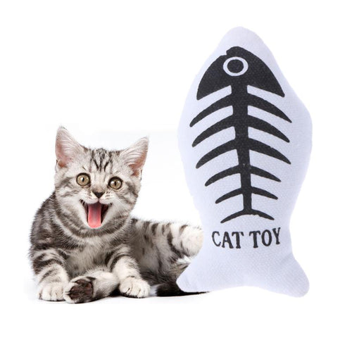 Fish Shaped Cat Toy