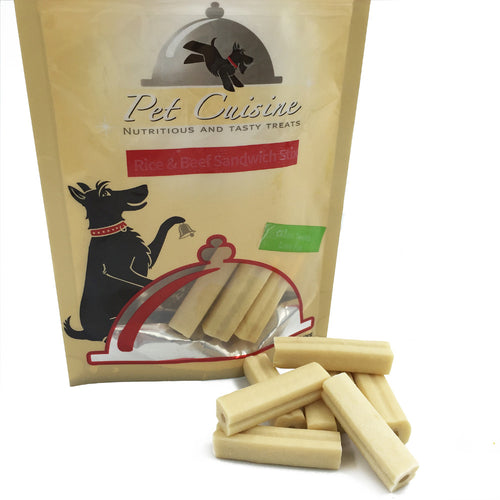 Pet Cuisine Rice & Beef Sandwich Stix 100g*2