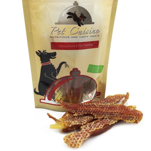 Pet Cuisine  Duck & Fish Twisters 100g*2 Bags