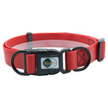 Load image into Gallery viewer, dog 360 nimble red plastic collar
