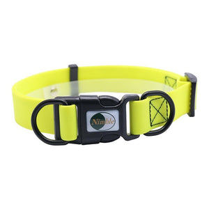 brilliant bold pvc yellow collar