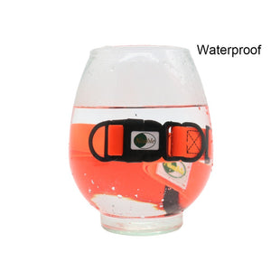 waterproof collar in water test photo